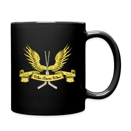 Who Saves Wins, Hockey Goalie - Full Colour Mug