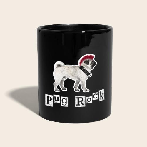 pug rock rot weiss - Tasse einfarbig