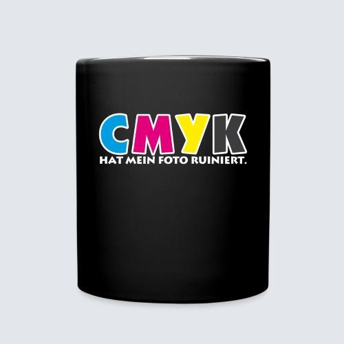CMYK hat mein Foto ruiniert - Tasse einfarbig