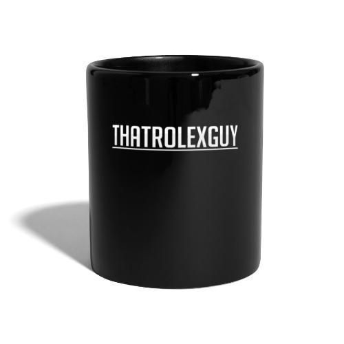 ThatRolexGuy Original: Black - Enfärgad mugg