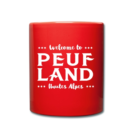 Peuf Land 05 - Hautes-Alpes - White - Mug uni