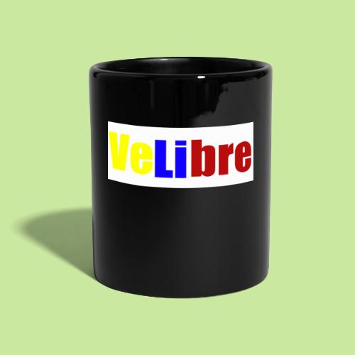 velibre tricolor - Taza de un color