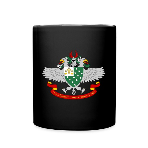 Wappen-Waage - Tasse einfarbig