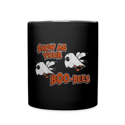 Show me your boo-bees funny halloween shirt - Full Colour Mug
