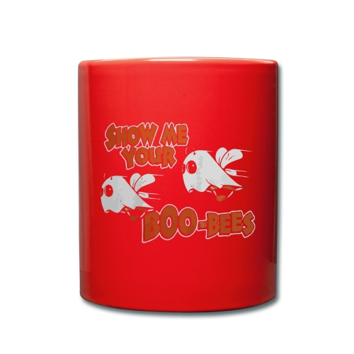 Show me your boo-bees funny halloween shirt - Full Colour Mug