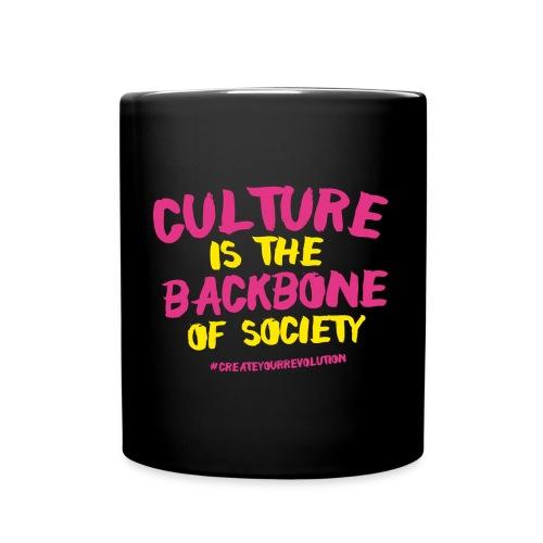 Culture Is The Backbone Of Society - Full Colour Mug