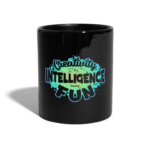 Createlligence - Enfärgad mugg