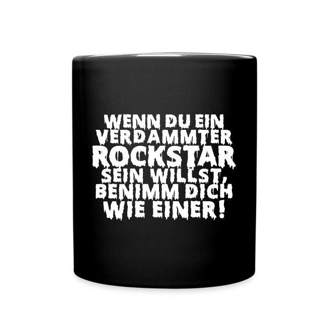 rock n roll Zitat Metal Bühne on stage