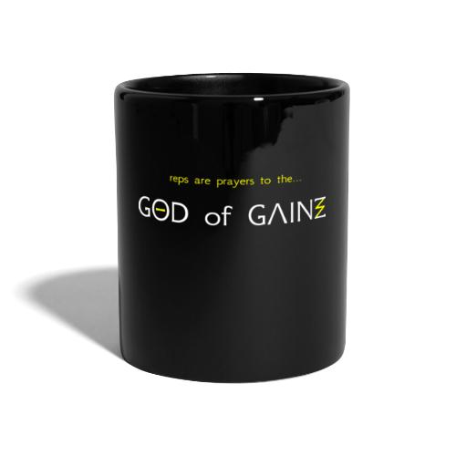 reps are prayers to the god of gains - Full Colour Mug