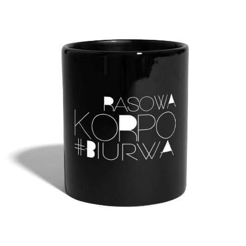 Rasowa Korpo Biurwa BLACK - Kubek jednokolorowy
