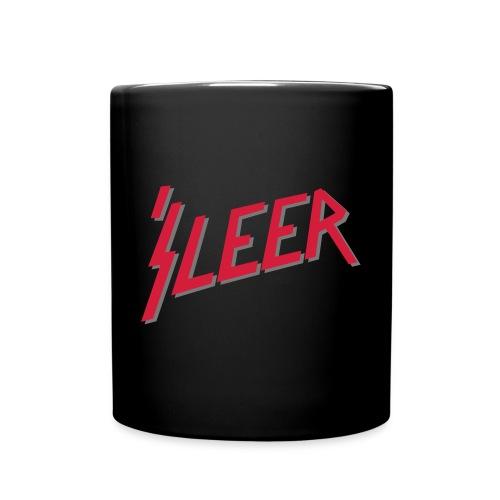 'S LEER – lustige Geschenkidee für Metalfans - Tasse einfarbig