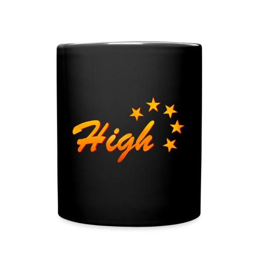 High Five Plüschbär - Tasse einfarbig