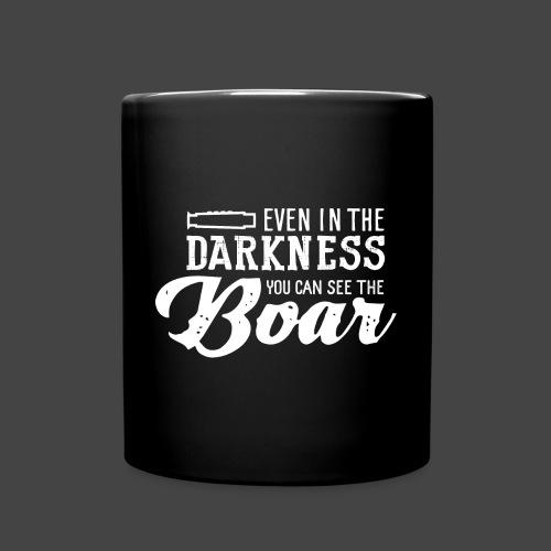 even in the darkness - Tasse einfarbig
