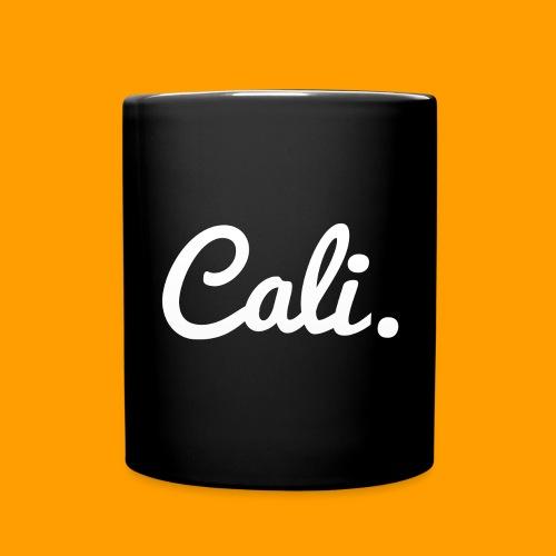 Cali s Logo Weiss - Tasse einfarbig