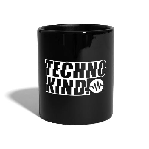 Techno Kind V2 - Tasse einfarbig