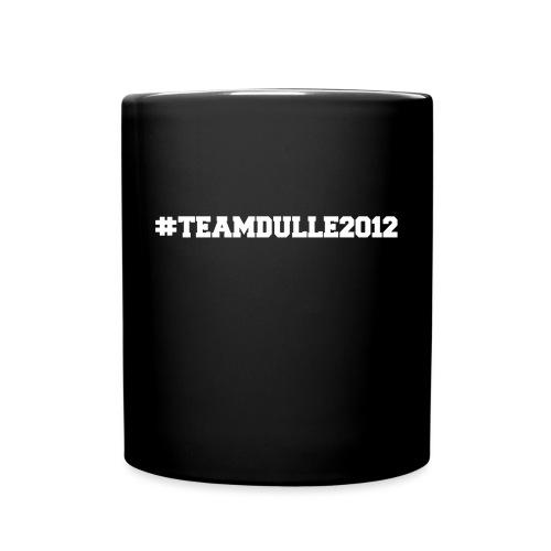 TeamDulle2012 - Enfärgad mugg