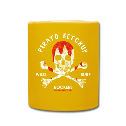 Pirato Ketchup Skull - Full Colour Mug