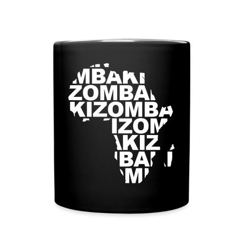 Kizomba mapa África - Taza de un color