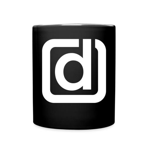 dacary d outline v small - Full Colour Mug