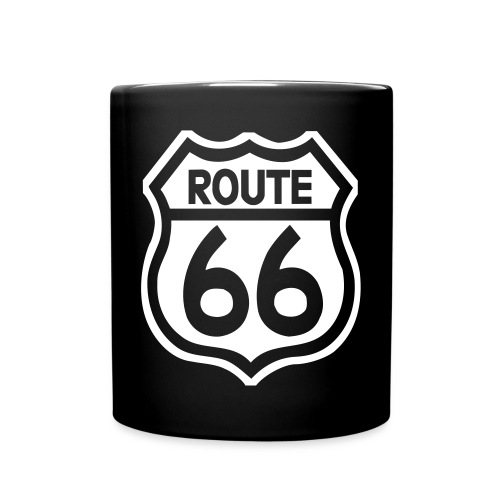 route66streched50t - Tasse einfarbig