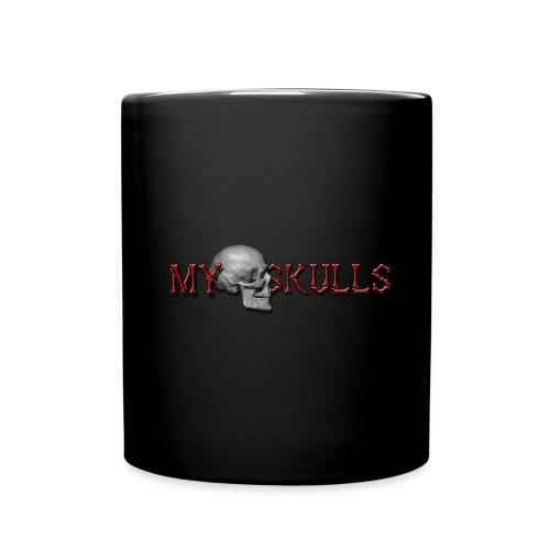 myskulls vorlage gross - Tasse einfarbig