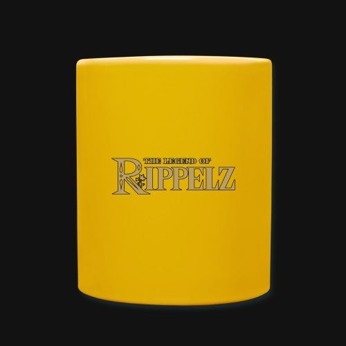 Rippelz - The Legend of Rippelz (Schriftzug only) - Tasse einfarbig