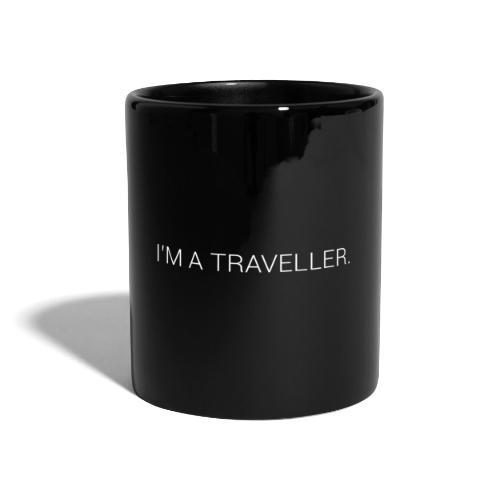 Text I'm a Traveller. - Mug uni