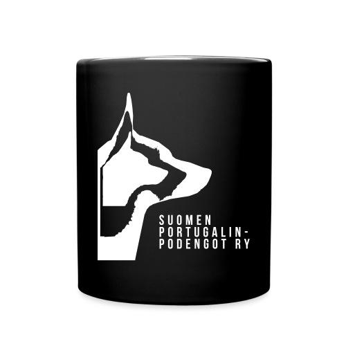 Podengo logo SPP ry - Yksivärinen muki