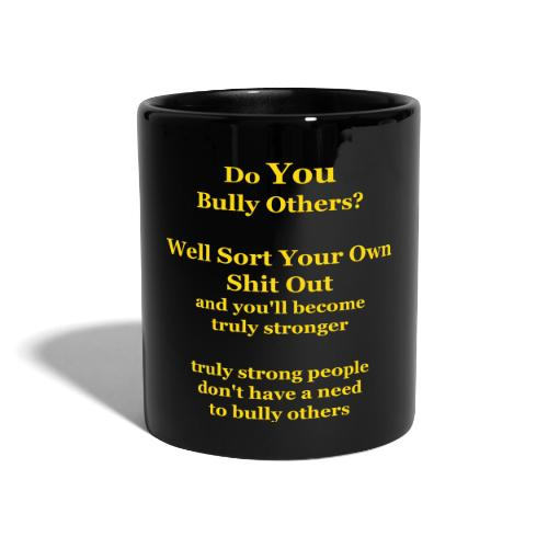 truly strong - vector - Full Colour Mug