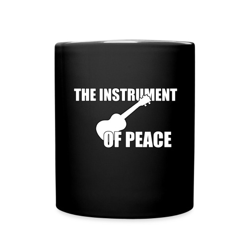 Ukulele Peace - Tasse einfarbig