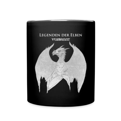 Legenden der Elben weiß png - Tasse einfarbig