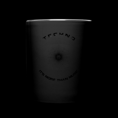 TECHNO - IT'S MORE THAN MUSIC - Tasse einfarbig