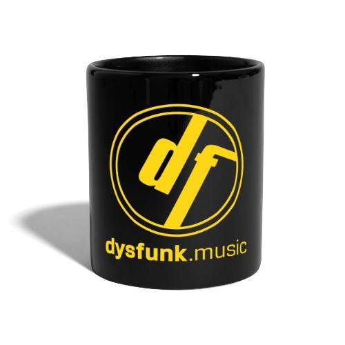 logo dysfunk weiß - Full Colour Mug