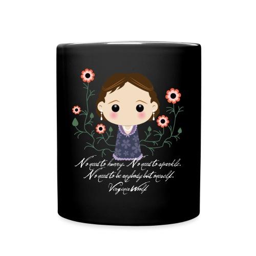 Virginia Woolf citazione [ENG] - Tazza monocolore