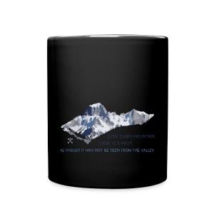 Oltre tutte le montagne... - Tazza monocolore