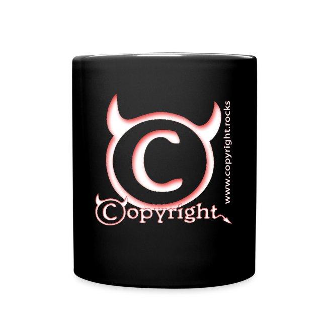 Colored Copyright Mug