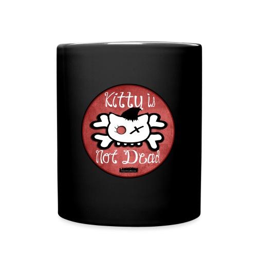 kitty is not dead logo - Mug uni