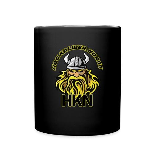 hkn-logo-skrift - Ensfarget kopp
