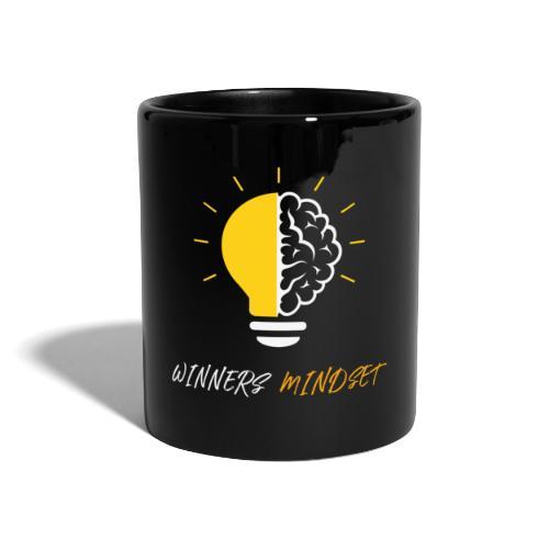 Winners Mindset - Ein Design für Gewinner - Tasse einfarbig