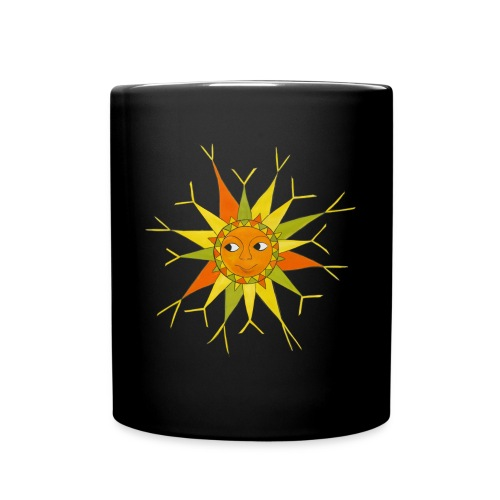 sun - Tasse einfarbig