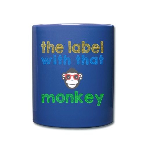 the label with that monkey - Tasse einfarbig