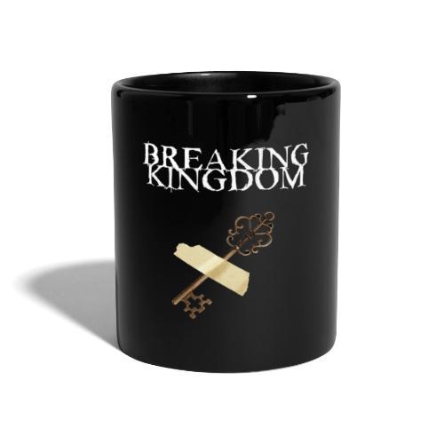 Breaking Kingdom schwarzes Design - Tasse einfarbig