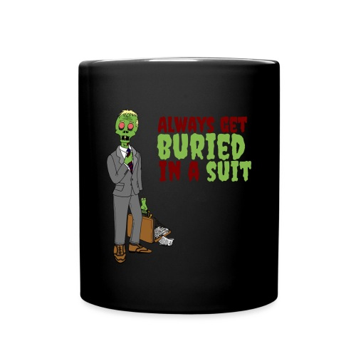 Buried in Suit - Full Colour Mug