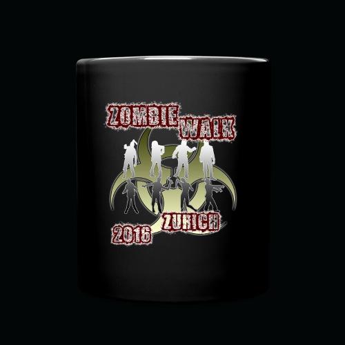 shirt zombie walk1 - Tasse einfarbig