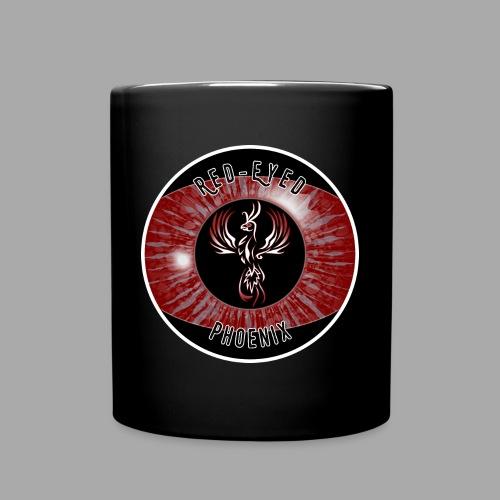 Red-Eyed Phoenix Logo - Tasse einfarbig