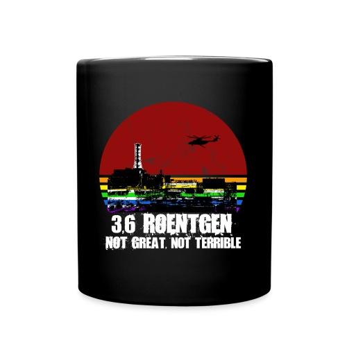3.6 Roentgen - Not great, not terrible - Tasse einfarbig