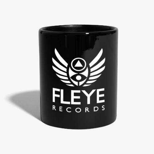 Fleye Records (White Logo Design) Tøj m.m. - Ensfarvet krus