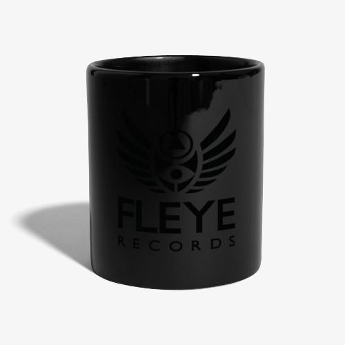 Fleye Records (Black Logo Design) Tøj m.m. - Ensfarvet krus