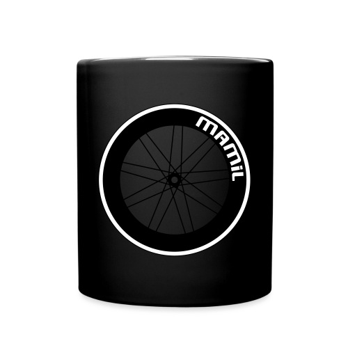mamilwheelsml svg - Full Colour Mug