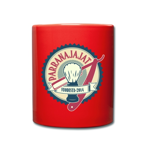 PARRANAJAJAT_logo-cmyk-is - Yksivärinen muki